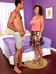 Wife get serviced by younger latin stud