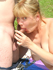 Sexy old grandma gets a good fucking!