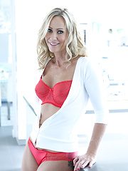Blonde MILF Surprise. Simone Sonay