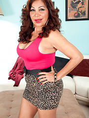 A Big-titted, Big-assed, 57-year-old latina mom